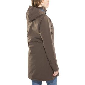 Yeti Raa Hardshell Down Coat Damen deep brown/ensign blue